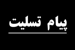 تسلیت به مهندس بدیعی عضو هیات رهبری جبهه ملی ایران