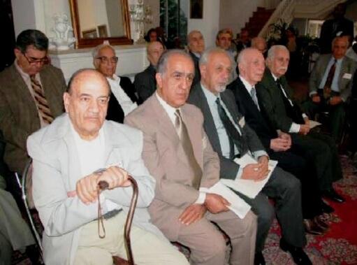حسین راضی در پلنوم الهیار صالح 1382