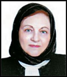 بانو فرشید افشار – عضو دیرپای شورای مرکزی و مسئول سازمان زنان جبهه ملی ایران